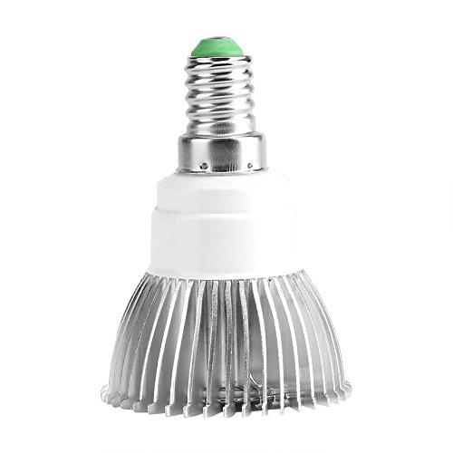 VBESTLIFE Le Spectre Complet 85-265V 18W 18 LED Élèvent l'Ampoule de Croissance Hydroponique de Fleur de Lumière(E14)