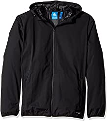 adidas Originals Mens Originals Pdx Windbreaker, Black/White, M