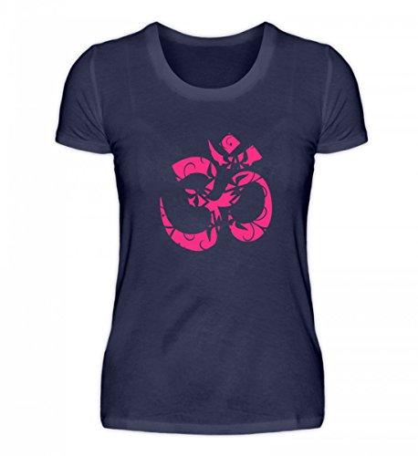 Hochwertiges Damenshirt - Om Zeichen Shirt Schönes Yoga Design - Made in Germany