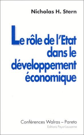 le-role-de-letat-dans-le-developpement-economique-conferences-walras-pareto-1er-3-mai-1991-universit