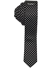 Sorella'z Black Micro Fibre Neckties for Men's