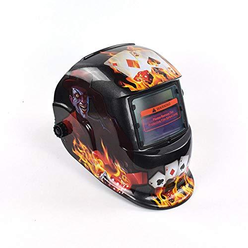 Schweißmaske Automatische Schweißmaske Gas Shield Welding Face Wear Welder Flame Welding Cap -