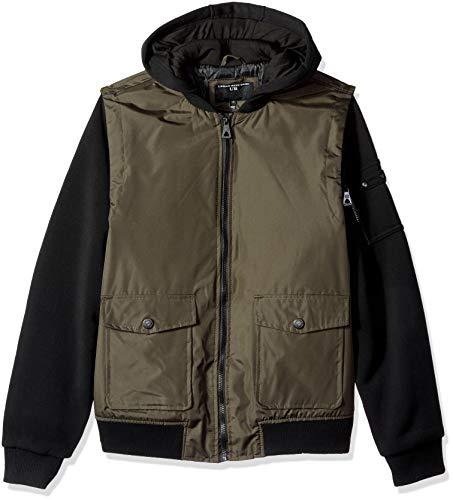 Urban Republic Herren Mens Cloud Ballistic Jacket Jacke, grün, Mittel Ballistic Polyester