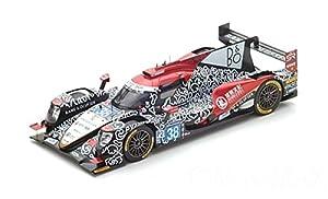 SPARK-Oreca-07Gibson LMP2-Le Mans 2017Coche de ferrocarril de Collection, 18s326, Negro/Rojo/Blanco