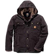 c3244238e Carhartt - Chaqueta de invierno resistente con capucha