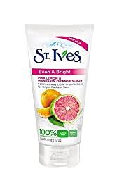 St. Ives Even & Bright Pink Lemon & Mandarin Orange Scrub 170 gm With Free Ayur Sunscreen 50 ml