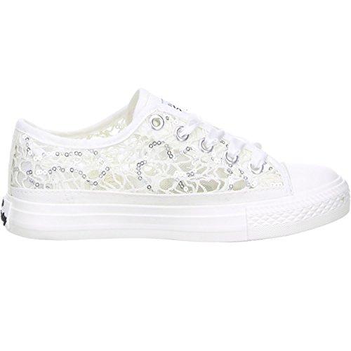 MISS SIXTY Kinder Mädchen Halbschuhe Sneaker weiß Weiß