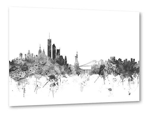 artboxONE Poster Städte Hochwertiger Kunstdruck mit der Skyline von Metropolen bunt und schwarzweiß – Premium Poster in vielen Verschiedenen Größen von