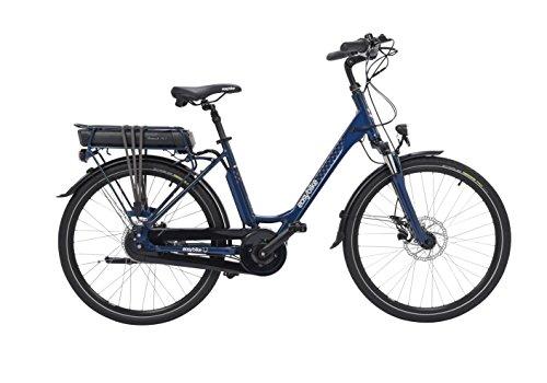 EASYBIKE Easymax M25-Nv Vélo Électrique Mixte Adulte, Bleu Marine