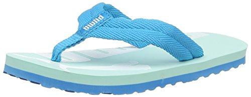 Puma Unisex-Kinder Epic Flip v2 PS Sandalen, Blau (Aruba Blue-Hawaiian Ocean 08), 34.5 EU