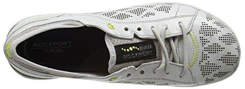 Rockport - Truflex W Lace To Toe, Scarpe da ginnastica Donna Silver (silver)
