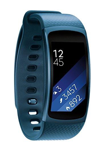 Elobeth F š ¹ r Samsung Gear Fit II Cinturino Smart Watch silicone strap 5.9in 7.48in orologio Band B š ¹ Gel F š ¹ r di ricambio per SAMSUNG GEAR FIT2SM R360Fitness Tracker, blu