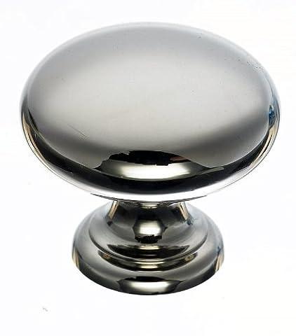 Top Knobs M1314 Mushroom Knob Nickel by Top Knobs