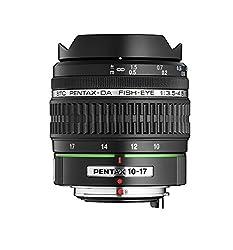 Pentax K-Mount SMC DA 10-17mm F/3.5-4.5 ED [IF] Fisheye Lens for Pentax DSLR Camera