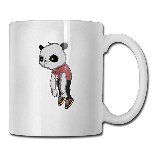 Halloween Panda 11oz Ceramic Coffee Mug Cute Birthday Christmas and Inspirational Gift (Express Halloween Panda)