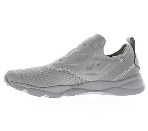 Reebok Furylite Slip On Uomo Sneaker Grigio Tin Grey