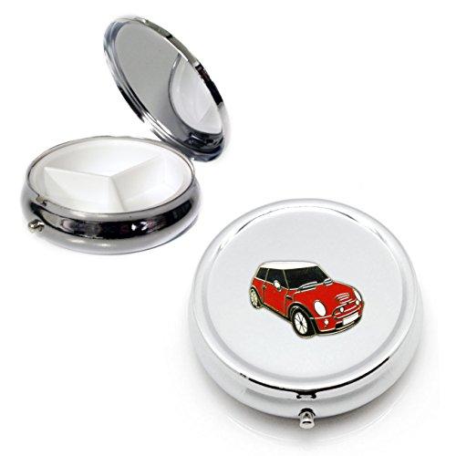 mini-cooper-silver-round-pill-box