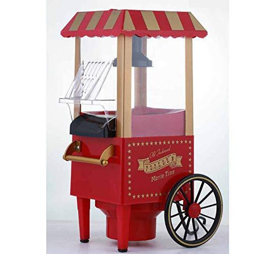 Weihnachtsserie Popcornmaschine, 1200W Heißluft Popcorn Maker Für Zuhause Zum Selber Machen, Fett Fettfrei Ölfrei, Weites-Kaliber-Design, BPA-Frei[Energieklasse A+++]