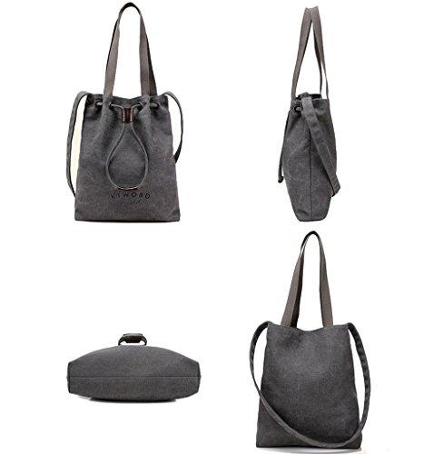 Super Modern , Damen Schultertasche schwarz schwarz beige