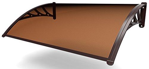 XONE PENSILINA ALVEOLARE FUME' 160x120 cm, Spessore lamina policarbonato 5,5 mm