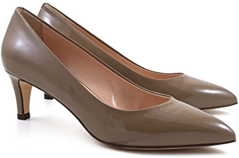 Leonardo scarpe Decoltè Artigianali in Vernice Nocciola Tacco 6 cm - Codice Modello  6805 Vernice Nocciola - Taglia... | Conosciuto per la sua eccellente qualità  | Gentiluomo/Signora Scarpa