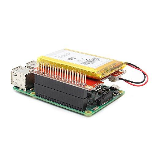 MYAMIA Geekworm Power Pack Pro V 1.1 Lithium Batterie Power Source Ups Hat Expansion Board Für Raspberry Pi