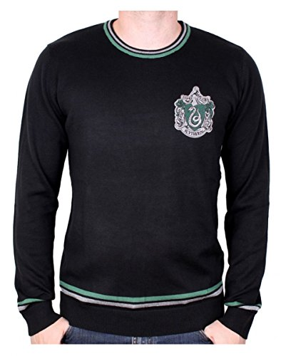 (Harry Potter Slytherin Pullover für Erwachsene Harry Potter & Draco Malfoy Fans M)