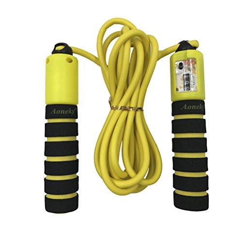 Aoneky Adjustable Skipping – Skipping Ropes