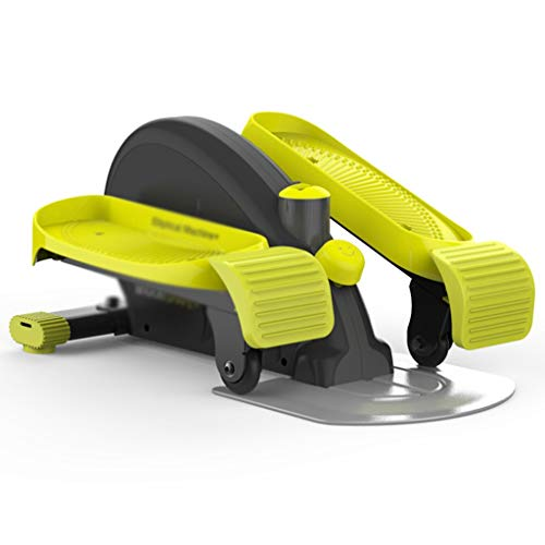 Stepper Pedal Machine Indoor Fitnessgeräte Mini Mute Space Walker Sportpedal, Abnehmen der Maschine (Color : Green, Size : 60 * 43 * 30cm)