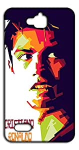 Happoz Cristiano Ronaldo Huawei Honor Holly back case Mobile Phone Back Panel Printed Fancy Pouches Accessories Z1158