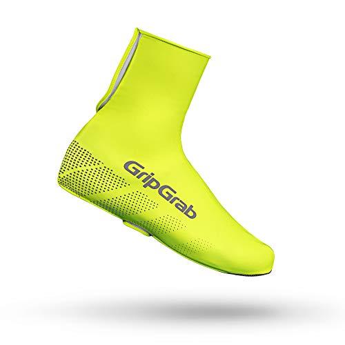 GripGrab Radsport Ride Wasserdichter Überschuh Fahrrad, Gelb Hi-Vis, XL (44-45)