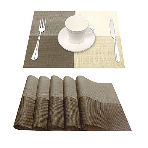 YUJIAN Sets de Table lavables PV...