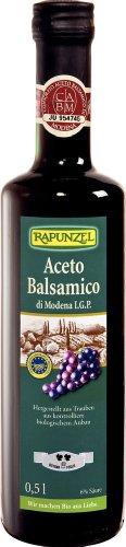 Rapunzel Aceto Balsamico di Modena I.G.P. (Rustico), 2er Pack (2 x 500 g) - Bio