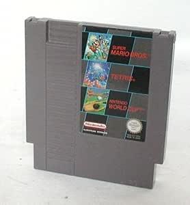 Super Mario Bros + Tetris + Nintendo World Cup [NES