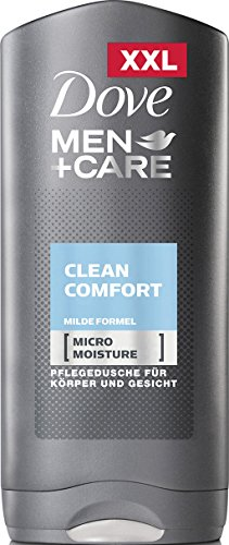 DOVE Men + Care Clean Comfort XXL Duschgel, 6er Pack (6 x 400 ml)