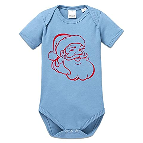 Santa Claus Illustration Baby One Piece by