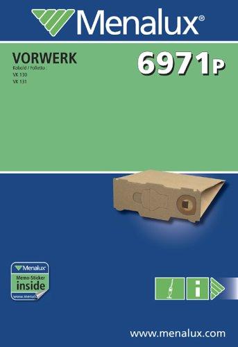 6971P 5 Staubsaugerbeutel geeignet für Vorwerk VK 130 + 131 Kobold