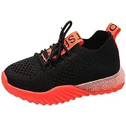 LED Chaussures Enfants LED LumièRe Sneakers Chaussures Pas Cher Multisports Outdoor Mesh Respirant LéGer Baskets Mode pour GarçOn Et Fille