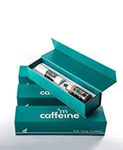 mCaffeine Coffee Prep Gift Set | Facial Kit with Face Serum and Under Eye Cream for a Glowing Skin | Signature and Premium Diwali Gift Kit | For Men and Women