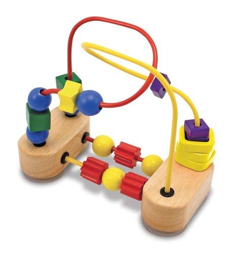Melissa & Doug First Bead Maze – Wooden Educational Toy 41XTmob1fOL