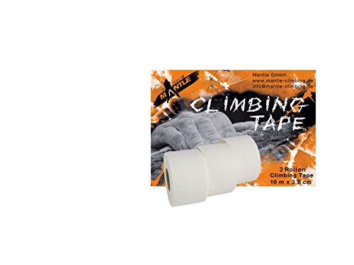 Mantle Tape Fingertape 3X 3, 8 cmx10m weiß M