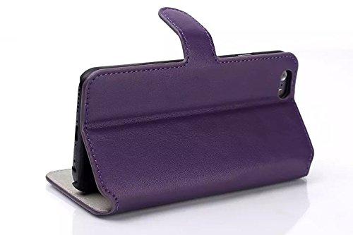 """inShang Hülle für Apple iphone 6 4.7 inch iPhone6 4.7"""", Edles PU Leder Tasche Hülle Skins Etui Schutzhülle Ständer Smart Case Cover für iphone 6 Cell Phone, Handy , Zubehör + inShang Logo hochwertigen soft purple"""