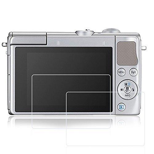Afunta - Lot de 2 films de protection d'écran pour Canon M6 M100, en verre trempé anti-rayure, pour appareil photo numérique DSLR