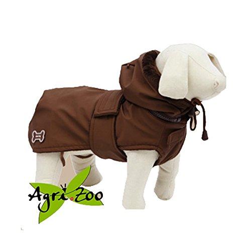 Cappottino Oslo Per Cani Ferribiella - Marrone, 30 cm