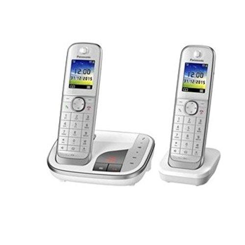 Panasonic KX-TGJ322GW Schnurlostelefon mit Anrufbeantworter (DECT)