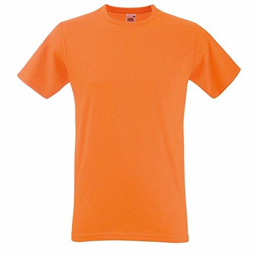 Fruit of the Loom Herren Modern T-Shirt Orange