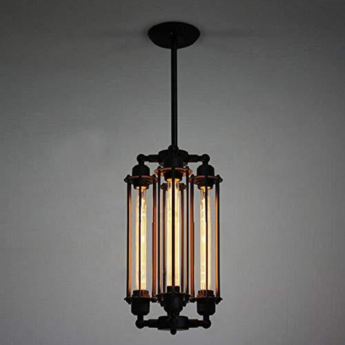 Loft Style Flute Vintage Pendelleuchte Creative Bar Industrial Style Pendelleuchten Schmiedeeisen Edison Art Deco Lighting -