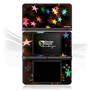 DeinDesign Skin kompatibel mit Nintendo DSi XL Aufkleber Sticker Folie Stars Sterne Colourful