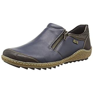 Remonte Women's R4701 Loafers Blue (kakao/Pazifik/Antik 14) 6.5 UK