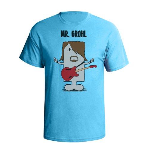 Mr grohl 'mr mimic' mens uomo maglietta cult music inspired t shirt
